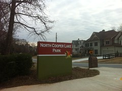 North Cooper Lake Park Sign