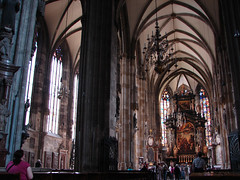 Stephansdom (St. Stephen's Cathedral) (Tjflex2) Tags: vienna wien new trip travel vacation holiday art history church beautiful museum fun austria living cool interesting europe cathedral photos stage gothic landmarks objects roadtrip precious stephansdom proof presentation concept conceptual visitors approach multicolored setting romanesque day13 magnificent exciting inform entertain ststephenscathedral aesthetic stephansplatz innerstadt habsburgs top20travelpix christophcardinalschnborn archbishopofvienna consecratedin1147 motherchurchofthearchdioceseofvienna rudolfiv