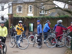 Setting off for Richmond Park (Kingston Cycling Campaign) Tags: kingstoncyclingcampaign