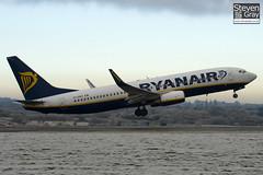 EI-DWO - 36079 - Ryanair - Boeing 737-8AS - Luton - 101207 - Steven Gray - IMG_6288