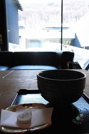 迎賓抹茶和小點