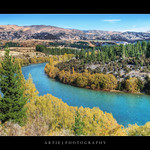 Kawarau River, Otago, Queenstown, New Zealand :: HDR