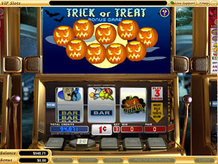 free Trick or Treat slot bonus game