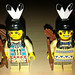 LEGO Collectible Minifigures Series 1 Tribal Hunter vs  Western Indians