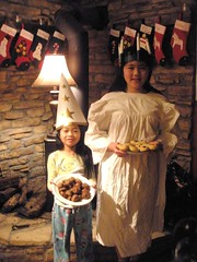 St. Lucia Day (Pictures by Ann) Tags: christmas kids dinner children bread fun baking day child olivia memories traditions homemade memory meal pastry pickles tradition activity countdown bake meatballs sophia stlucia activities limabeans swedishmeatballs stluciaday countdowntochristmas luciabuns