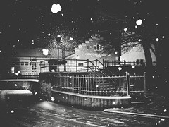Winter Has Arrived (Yves Roy) Tags: street nightphotography blackandwhite bw night dark blackwhite europe raw streetphotography eu fav20 gr bandw ricoh yr darknight darknights fav10 therogue blackwhitephotos grdiii ricohgriii ricohgr3 ricohgrdiii yvesroy darkstreetphotography