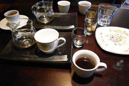 一個下午喝掉的咖啡