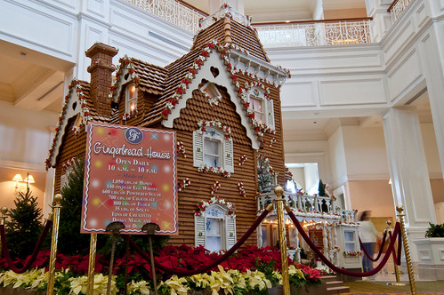 Grand Floridian Gingerbread House 2010