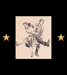 Swing Dance Couple Rubber Stamp Retro Craft Stamps (RubberShow) Tags: black vintage scrapbooking paper dance dancing craft rubber swing retro stamp 1950s poodle etsy jive rubberstamp 1950 swingdancing rubberstamping craftsupplies papercrafts poodleskirt craftstamps jivedancers