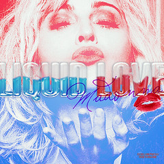 Madonna - Liquid Love (nathalia b.) Tags: photoshop madonna cover single xoxo unrealsed singlecover liquidlove fanmadecover catchstarship