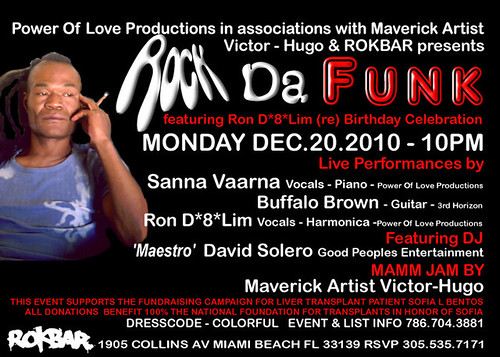 Rock Da Funk- Feat Ron D's (re) Birthday & A Great Cause