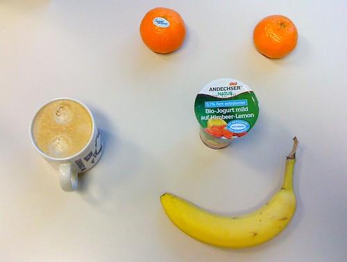 Bio-Joghurt, Clementinen & Banane