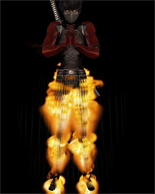 FIRE HUMAN TORCH AVATAR