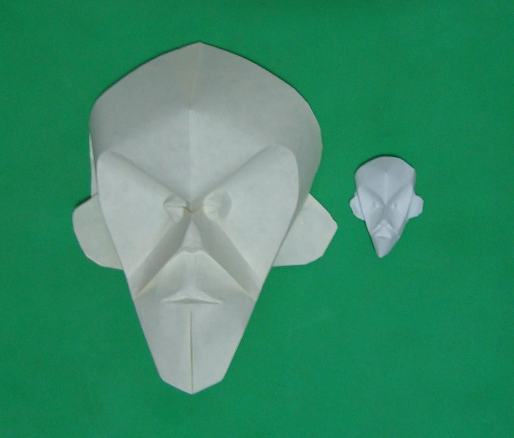 Mask Tests Design By Eric Joisel Tags Paper Origami