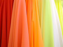 fabric store photography