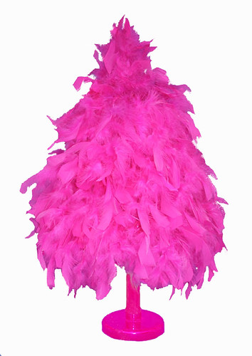 I'm Dreaming Of A Hot Pink Christmas Tree ??? – SoapBoxVille 2 0 - Pink Feather Christmas Tree
