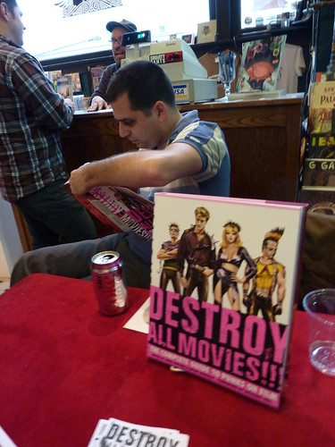 Destroy All Movies!!! book signing, Fantagraphics Bookstore & Gallery, Nov. 13, 2010