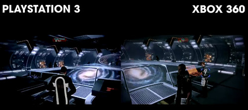 Mass Effect 2 Playstation 3 vs Xbox 360 HD Video Comparison