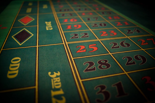 Roulette table by HCB%kan DahlstrCB6m, on Flickr