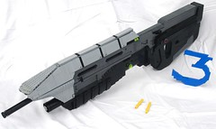 MA5C Assault Rifle V2 (Nick Brick) Tags: 3 gun lego chief rifle halo assault master odst
