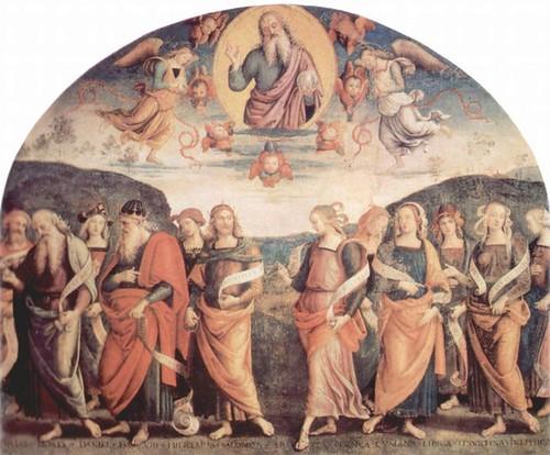 Gottvater mit Propheten und Sibyllen (1497-1500)