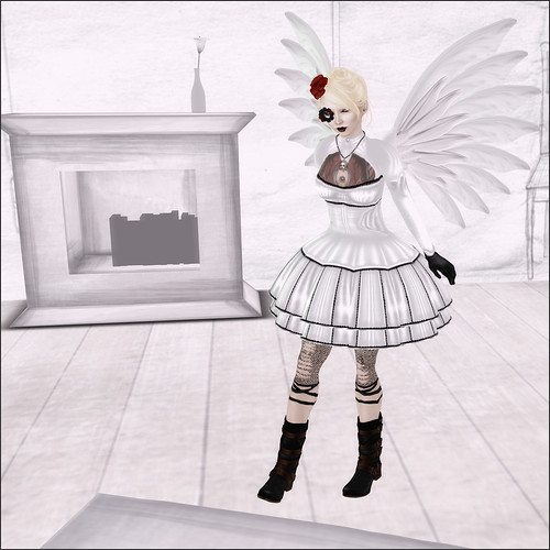 steampunk lolita angel thingie