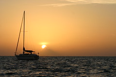 New Day's Peace (Ron Wooten) Tags: nature sailboat sunrise sailing belize carribean caribbean sailboats ambergriscaye sanpedro wooten caribbeansea greatnature caribbeantnc09 lifetnc10 dailynaturetnc11 oceanstnc ronwooten ronwootenphotography