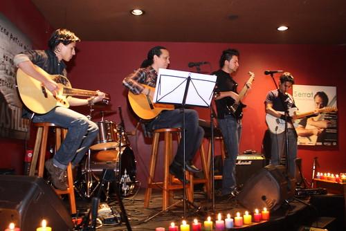 Salazar y sus músicos