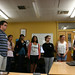 Students view the VUW NMR lab