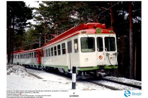 RENFE - Cercanías 442-004, Camorritos, 15-02-2005