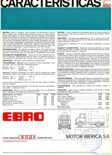 EBRO C 450 I