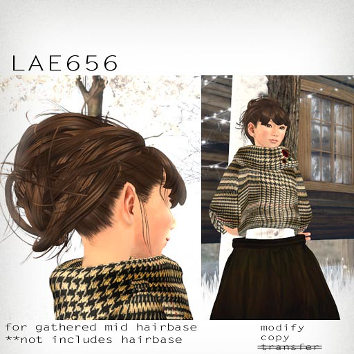 booN LAE656 hair