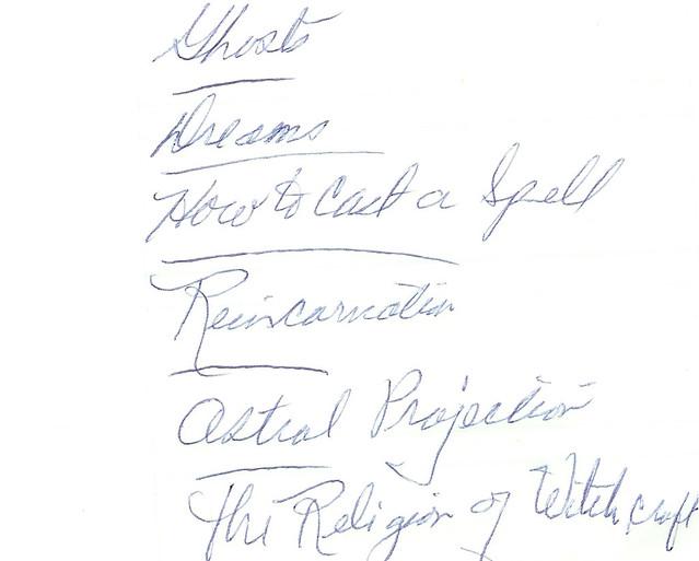Hand-Written Notes by Gundella