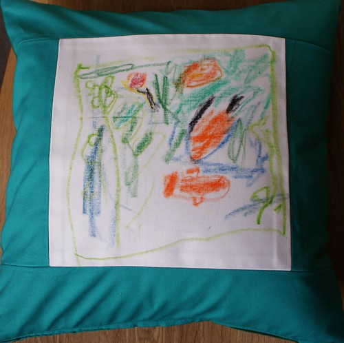 Fish pillowcase