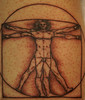 DaVinci tattoo  Tattoo by Tim