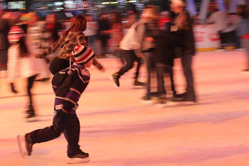 Ice Skating @ LA Live
