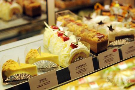 上島珈琲店,自製的甜點