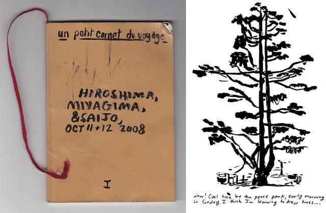 Hiroshima sketchbook