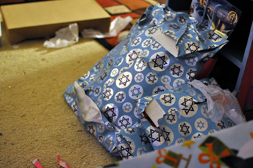 Jewish wrapping paper