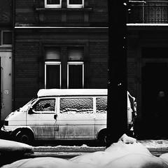 Find Me (Martin Gommel) Tags: street winter blackandwhite bw snow schwarzweiss karlsruhe