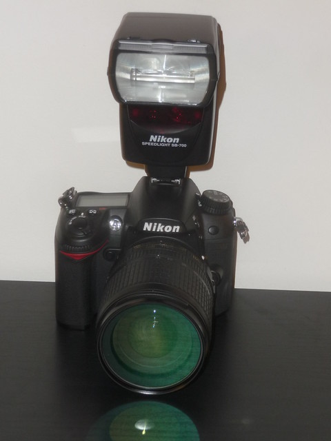 Nikon D7000 with SB-700 Speedlight Flash
