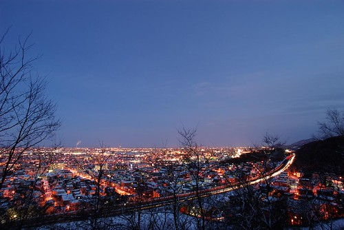 Night View of Mt,TeineMaruⅡ