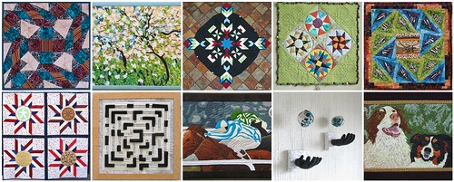 PennyFabricArts Project QUILTING Season 1 Creations