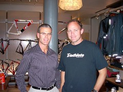 Triathlete Magazine Editor TJ Murphy & I in NYC