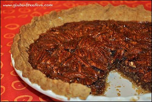 Gluten Free Goddess – Pumpkin Pie with Praline and Coconut-Pecan ...