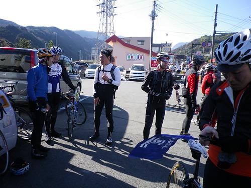 箱根登坂のベースとなった風祭ローソン