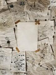 (Bahareh Bisheh) Tags: ه بهار ب سکوت نقاشی سفید ر آ دنیایکاغذیم
