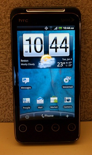 Meet the HTC Shift 4G