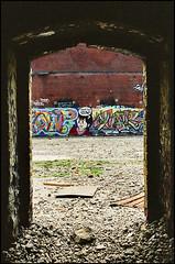 Redpath 96 Kodak VPS 400_27 (photofil) Tags: urban streetart abandoned flow graffiti montral montreal urbandecay urbanart sat dabs abandonn redpath jkr
