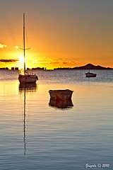 Un nuevo amanecer 1 (Gonzalo y Ana Mara) Tags: sol sunrise playa amanecer lamanga gonzalo losalczares canonef24105f4lisusm canoneos7d gonzaloyanamara
